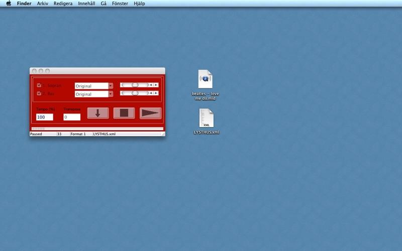 MidiAndMusicXmlPlayer Screenshot - 1