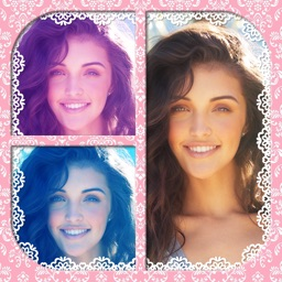 Paris Photo Collage Maker with Cute Frames