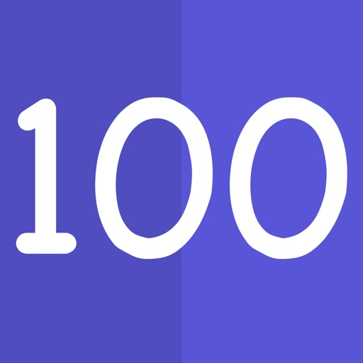 1 to 100 - Help your kids learn to count to 100, one number at a time!