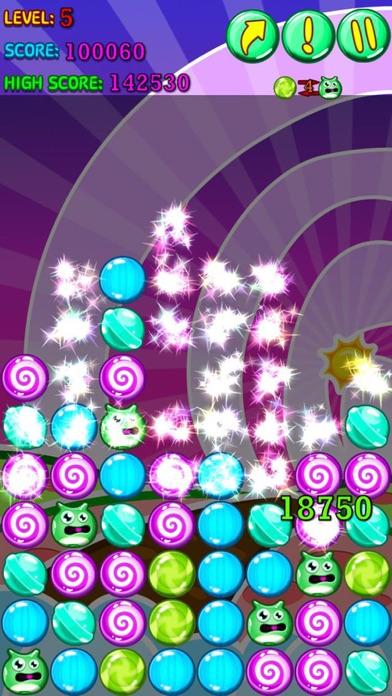 Colorful Sweet Crush Screenshot on iOS
