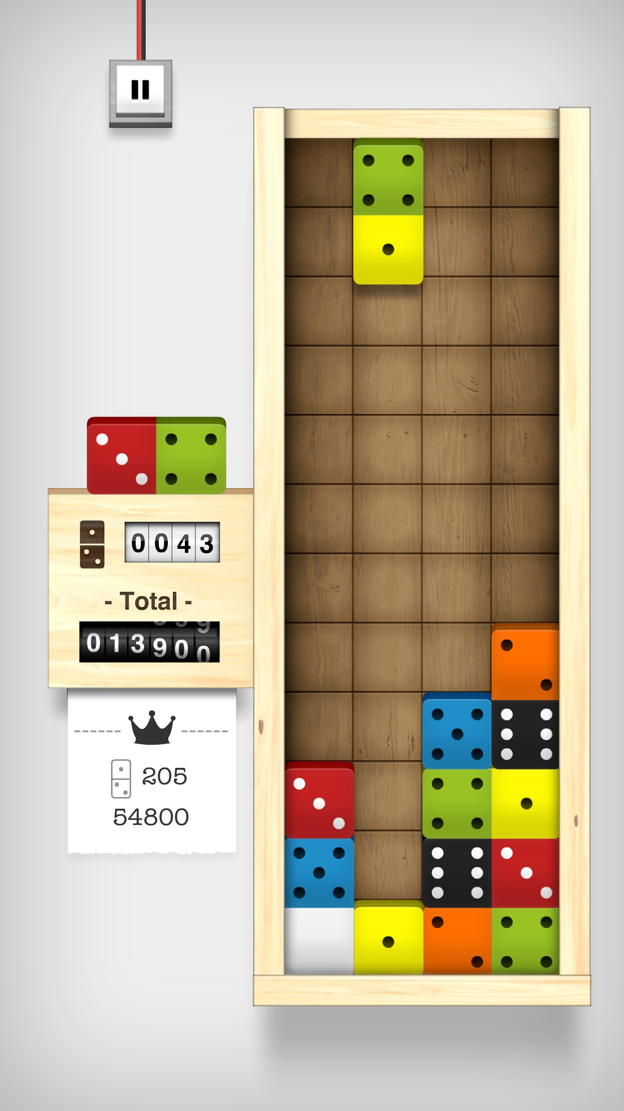 Screenshot do app Domino Drop