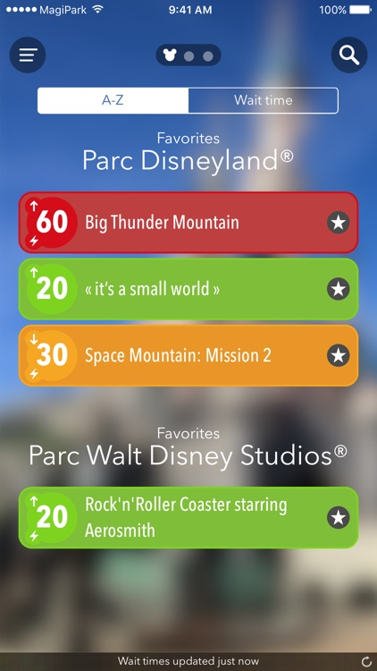 MagiPark - Disneyland Paris edition. Wait times for your favorite attractions.