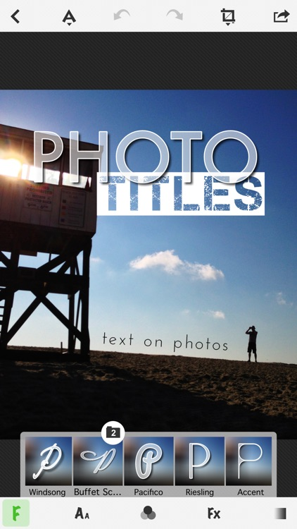 TitleFx - Write on Pictures, add Text Captions to Photos screenshot-0