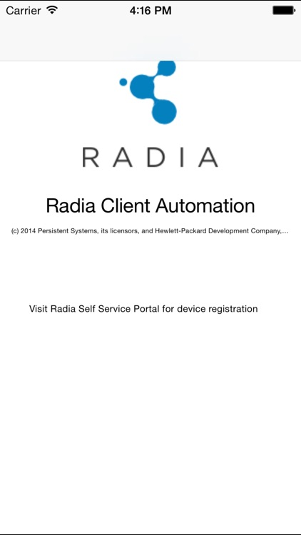 Radia Client Automation