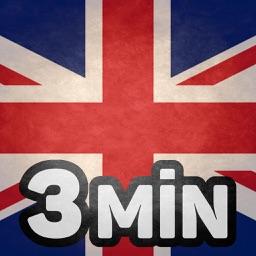 Apprendre l'anglais en 3 minutes