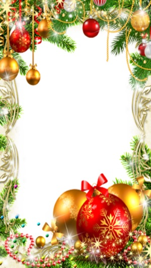 Christmas New Year Photo Frames on the App Store