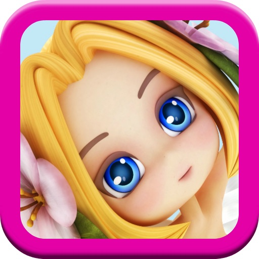 A Fairy Princess Game for Kids FREE -- Sound Match Puzzle Fun! iOS App