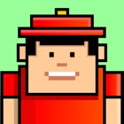 Flying Man Action Adventure - Tap to Jump and Avoid Ant, Spider, and Wild Insects icon