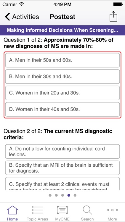 Multiple Sclerosis Virtual Education Academy screenshot-3