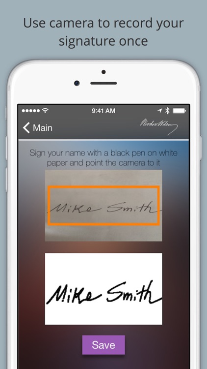 SignHere Pro: Use Camera to Sign Documents screenshot-0