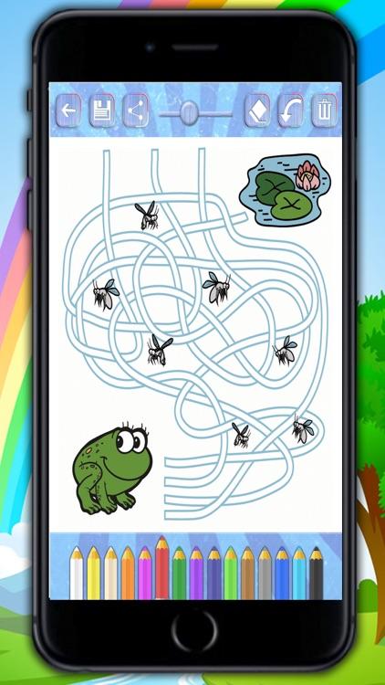 Mazes – logic games for children - Premium