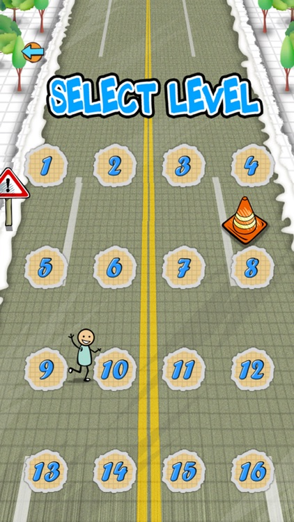 `Stickman Police Car Crime Chase Race: The Doodle Chase Racing Free by Top Crazy Games screenshot-2