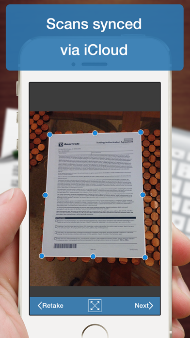 Scanner Deluxe - Scan and Fax Documents, Receipts, Business Cards to PDFのおすすめ画像2