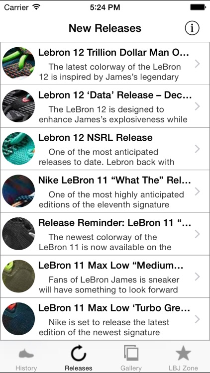 Lebron Shoe Edition - All Time Releases screenshot-3