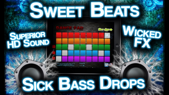 DancePad : Hottest Music Maker for Hip Hop and EDM Screenshot