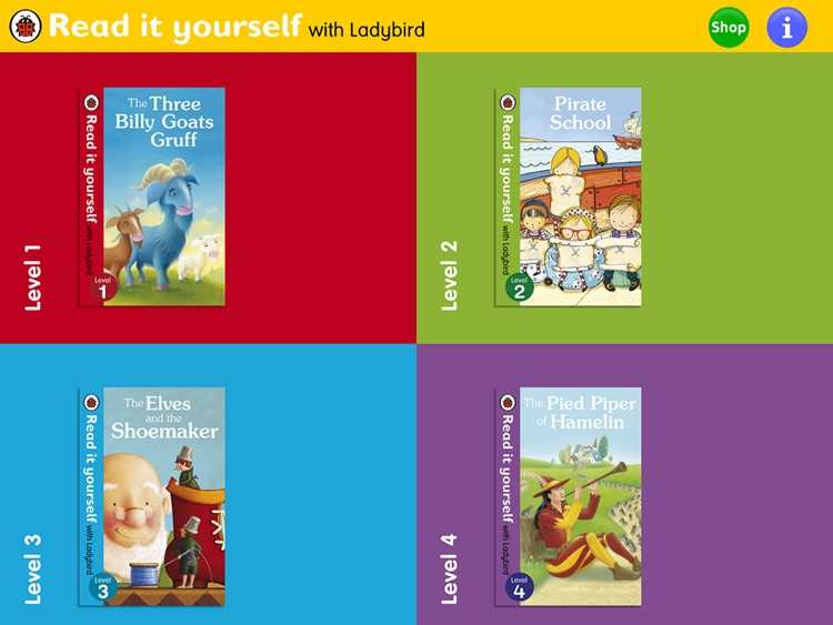 Read it Yourself with Ladybird: Interactive reading practice for beginner readers