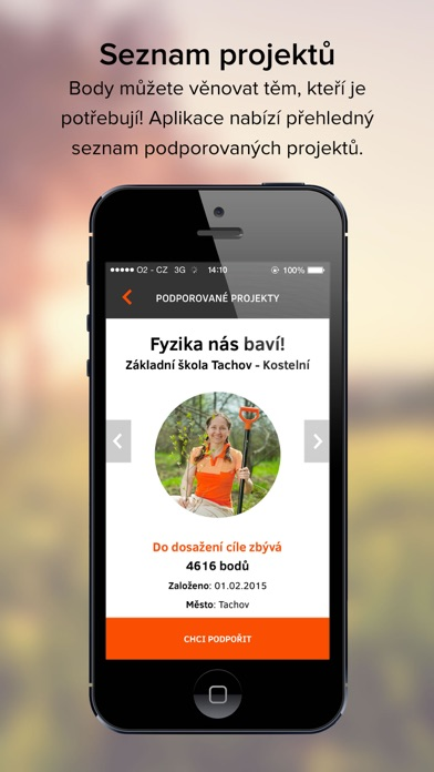 Screenshot for EPP – Pomáhej pohybem in Czech Republic App Store