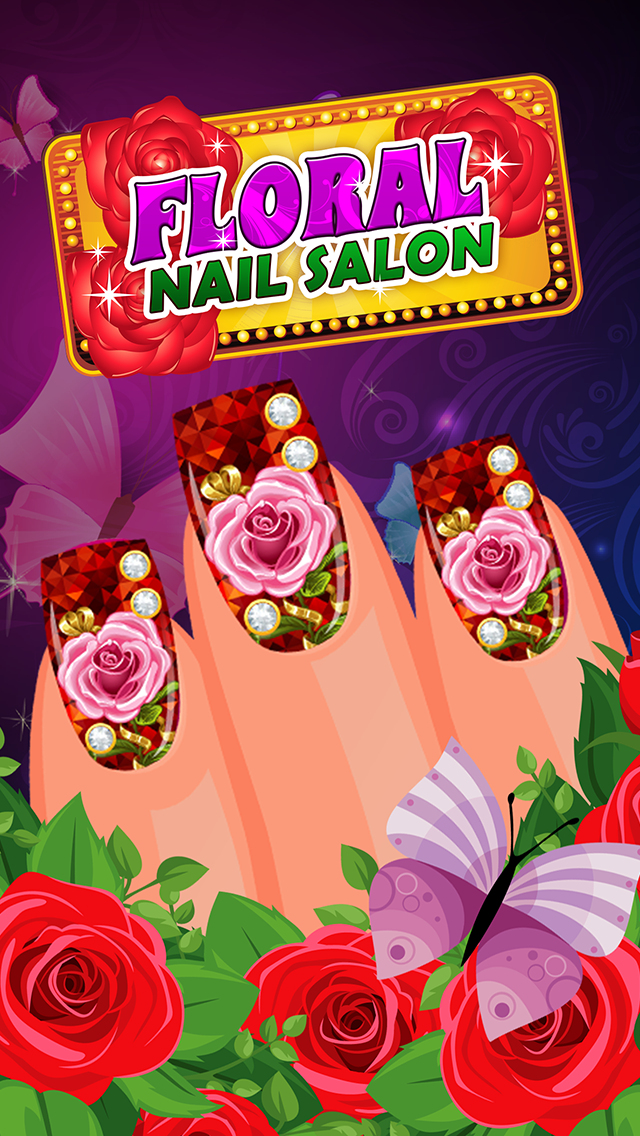 Fantasy Dress Up Your Floral Nail Salon