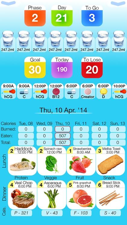 hCG Diet Life Pro screenshot-0