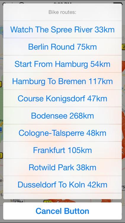 Germany Cycling Map screenshot-4