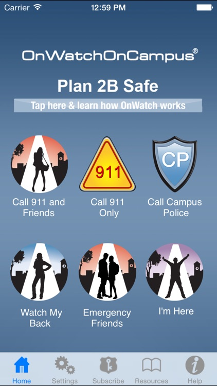 OnWatch™ - The Personal Safety App