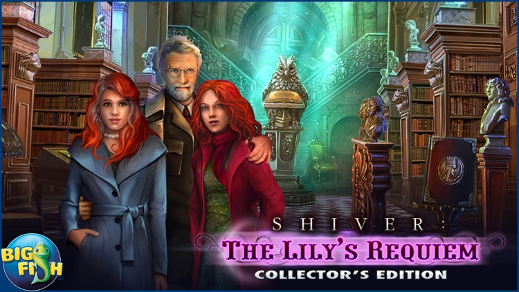 Shiver: Lily's Requiem - A Hidden Objects Mystery screenshot-4