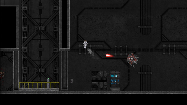 Sector Zero Free: A Space Spaceman Jetpack Survival Adventure Game screenshot-3