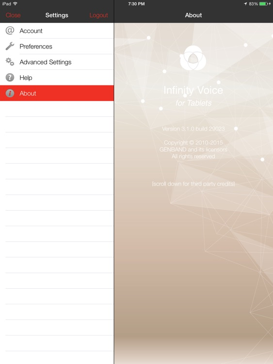Infinity Voice - for Tablets screenshot-4