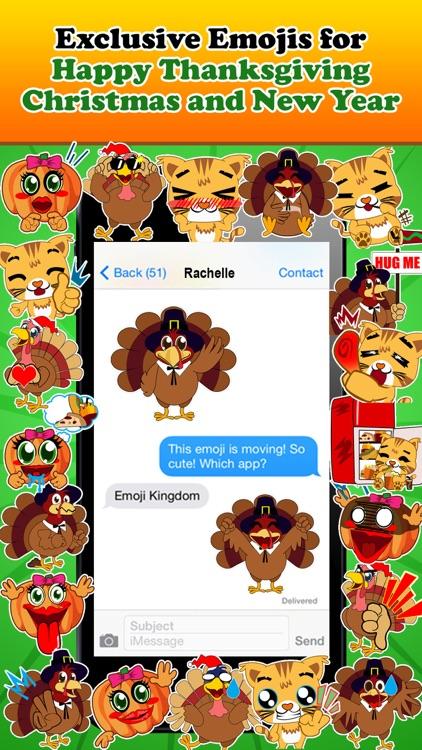 Emoji Kingdom Free  - Christmas Turkey Emoticons