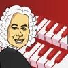 Play Bach:魔法のピアノ鍵盤を追って、クラシック音楽を救おう!