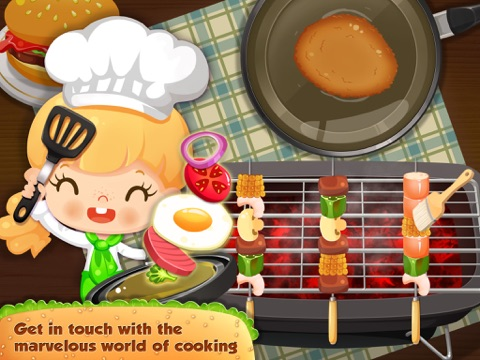 Candy's Restaurant - Kids Educational Games для iPad