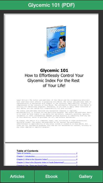 Glycemic Index Guide - How To Control Your Glycemic Index Effectivelyのおすすめ画像3