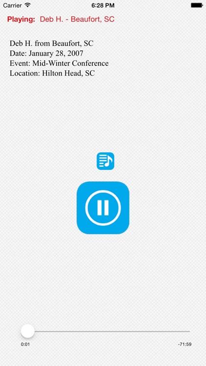 AA Speakers 2007 - 1 screenshot-3