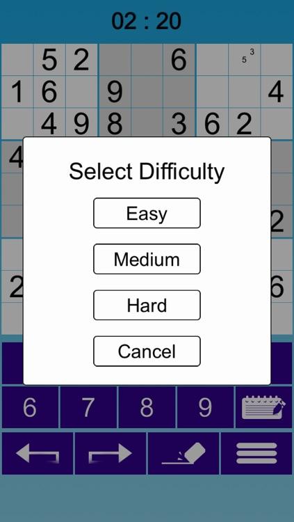 :-) Sudoku screenshot-3