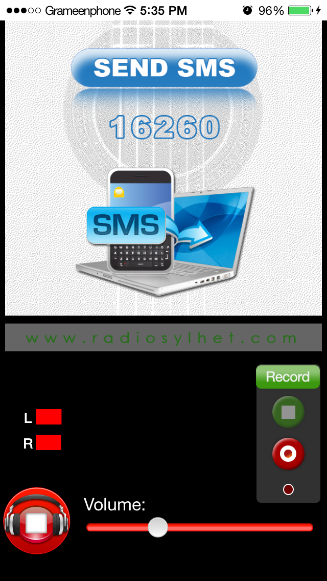 RadioSylhet screenshot one