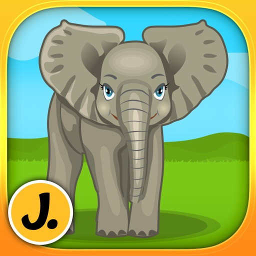 Jungle and Rainforest Animals 2: puzzle game for little girls, boys and preschool kids - Free