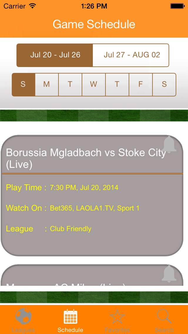 Live Football TV App screenshot1