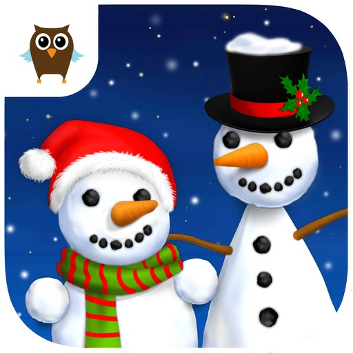 Sweet Baby Girl Christmas Fun and Snowman Gifts - Kids Game