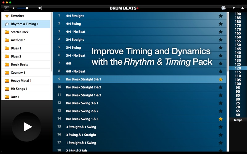 Drum Beats+ (Rhythm Metronome, Loops & Grooves Machine