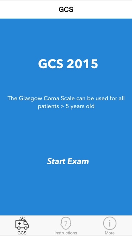GCS 2015 - Glasgow Coma Scale Calculator screenshot-4