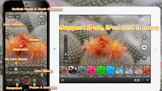 iFast Video Zoom For Free, Live Effect, Pause and Sharing