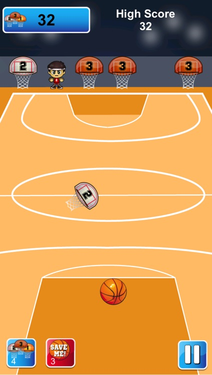 Basketball - 3 Point Hoops screenshot-4