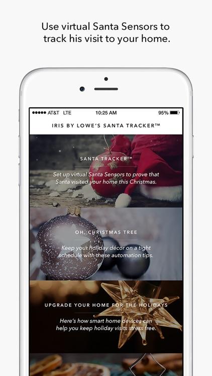Iris by Lowe's Santa Tracker