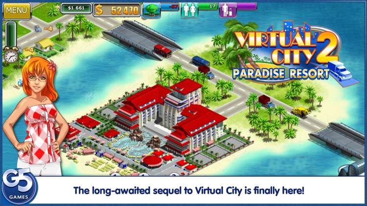 Virtual City 2: Paradise Resort (Full) screenshot-0
