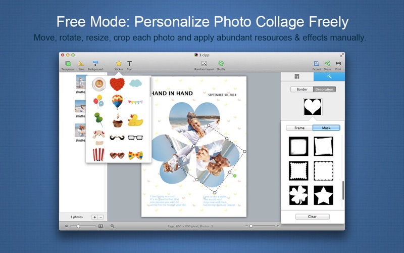 CollageIt 3 Pro Screenshot