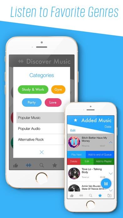 SoundTune Free Music Streamer & MP3 Player screenshot two