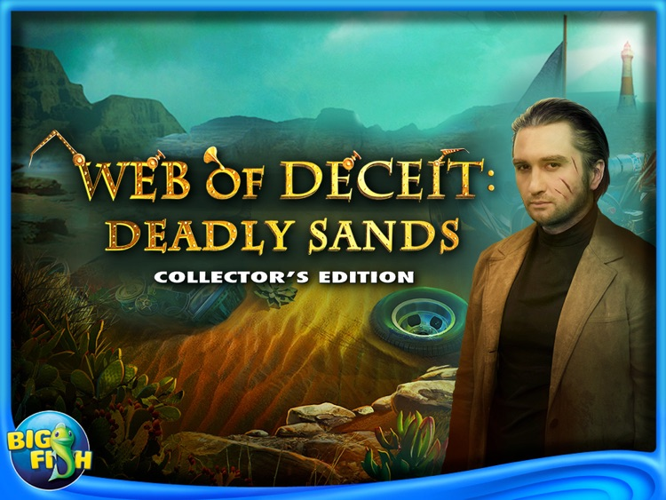Web of Deceit: Deadly Sands HD - A Mysterious Hidden Object Adventure (Full) screenshot-4