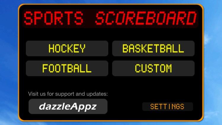 JD Sports Scoreboard for iPhone and iPod Touch