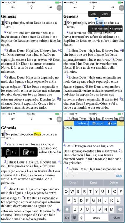 A Bíblia Sagrada (livros e áudio)(Portuguese Bible) screenshot-4