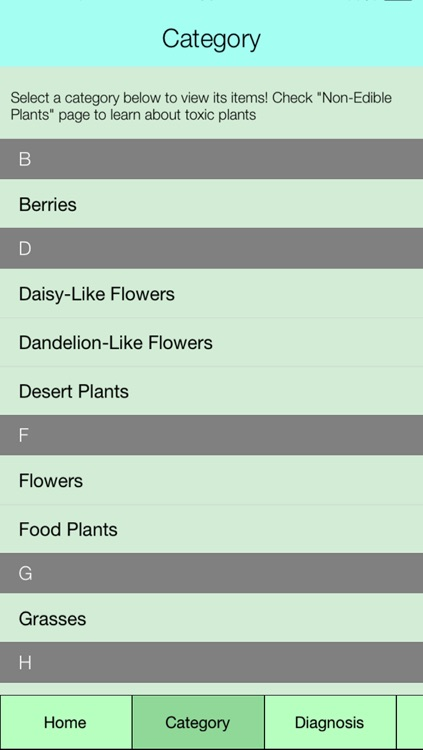 Edible Plant Guide